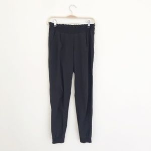 Athleta Black Joggers Size 0